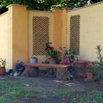 Gartenteil in Mohács, Ungarn