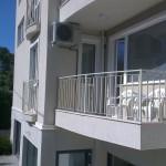 Balkon in der Seniorenresidenz in Bulgarien