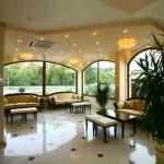 Lobby des Seniorenheimes in Bulgarien