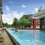 Pool in Seniorenresidenz in Thailand