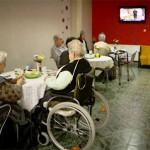 Speisesaal im Hospitz in Kroatien
