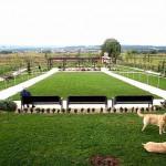 Garten von Seniorenheim in Kroatien