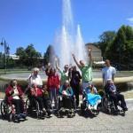 Freizeitgestaltung im Pflegeheim in Bosnien