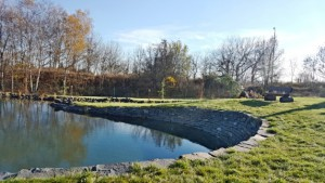 Garten von dem Seniorenheim in Tschechien
