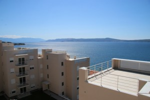 Salvia Heim an der Küste in Kroatien