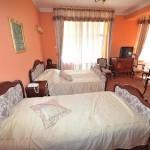 Schlafzimmer in der Seniorenresidenz in Polen