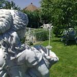 Garten des Pflegeheimes in der Slowakei