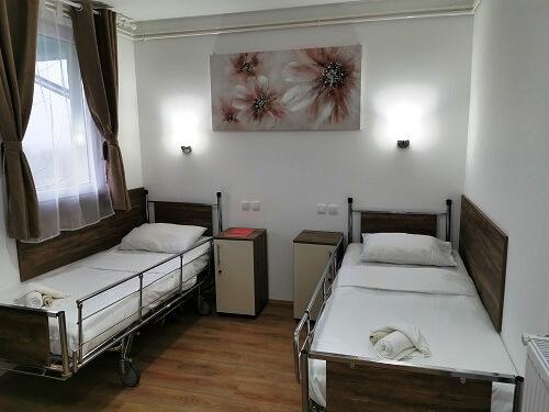 Schlafzimmer Pflegeheim Serbien