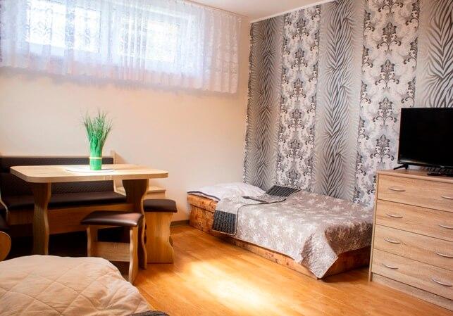 Zimmer im Pflegeheim in der Slowakei